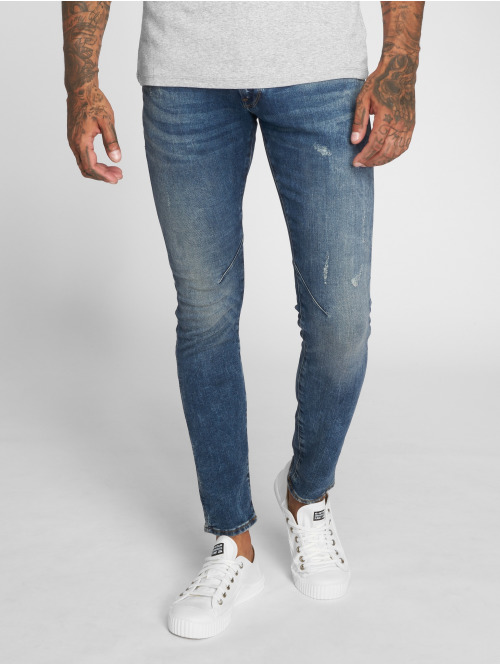 G-Star Skinny Jeans D-Staq 5-Pkt blau