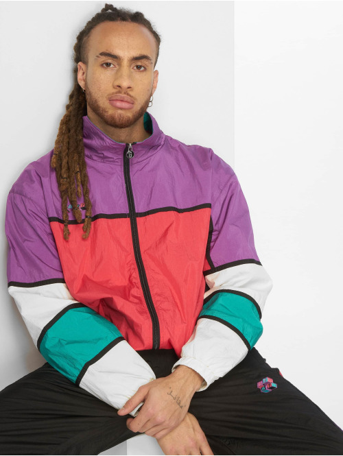 Grimey Wear Übergangsjacke Brick Track violet