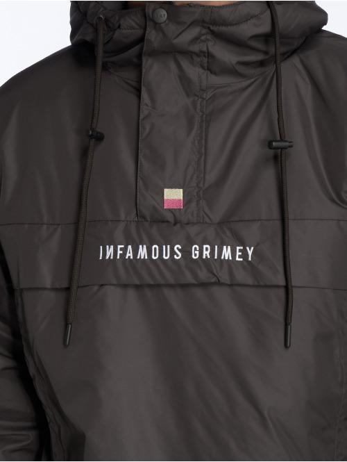Grimey Wear Winterjacke GTO Heritage schwarz