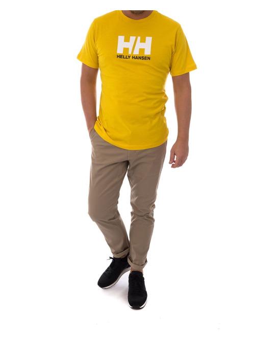 Helly Hansen T-Shirt HH Logo gelb