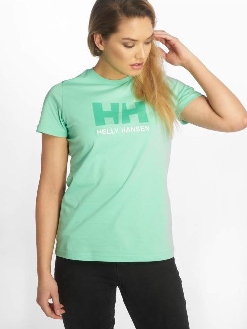 Helly Hansen T-Shirt HH Log grün