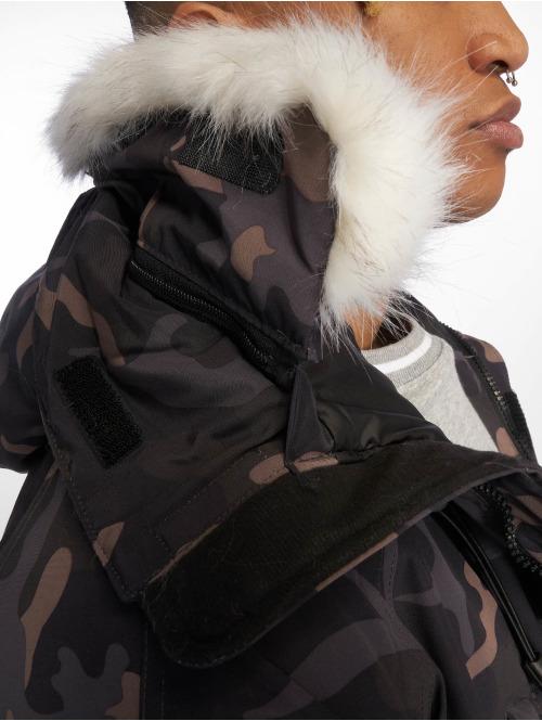 Helvetica Winterjacke Artic camouflage
