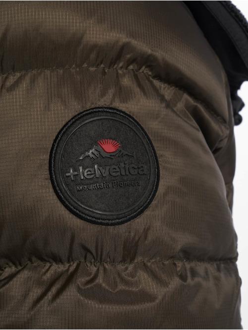 Helvetica Winterjacke Summit khaki