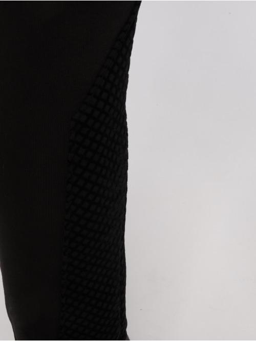 Horspist Jogginghose Python schwarz