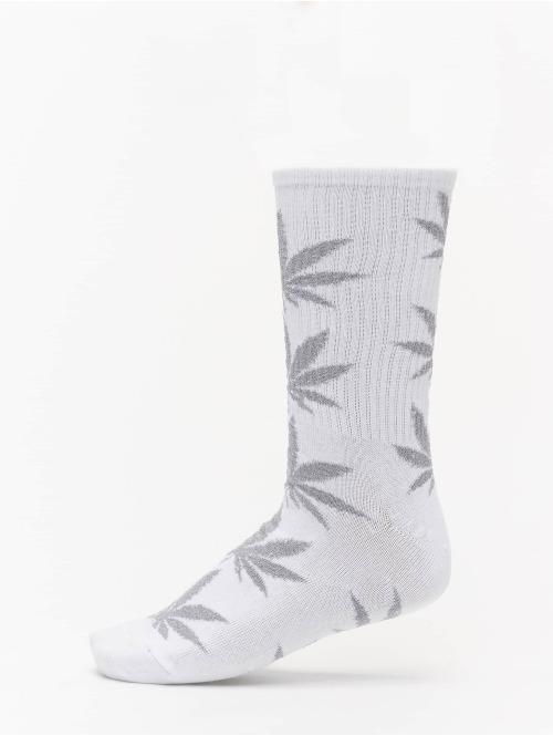 HUF Socken Plantlife Tinsel weiß