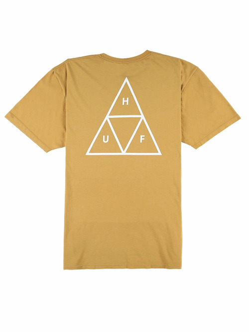 HUF T-Shirt Essentials gelb