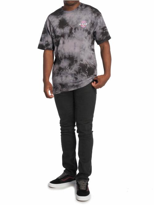 HUF T-Shirt Psycho Neo grau