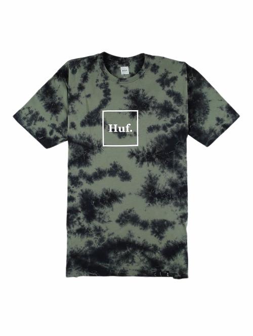 HUF T-Shirt Dom Logo olive