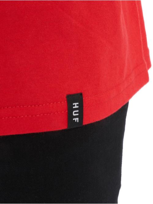 HUF T-Shirt Triple Troangle rot