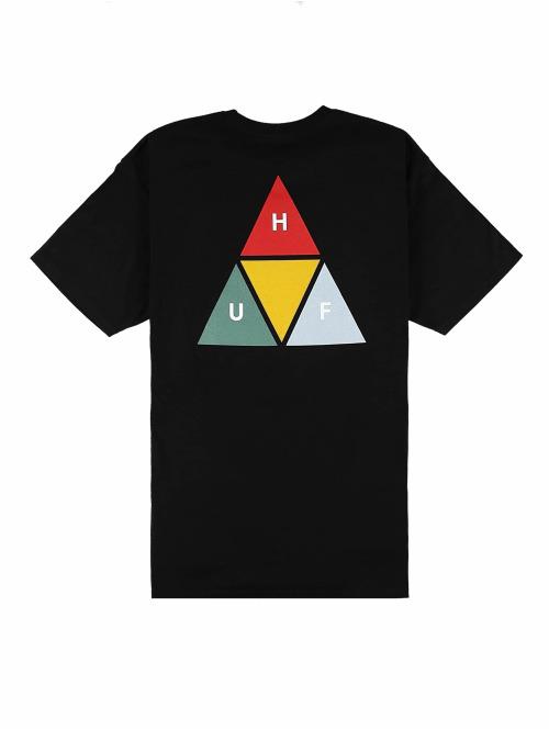 HUF T-Shirt Prism Triangle schwarz