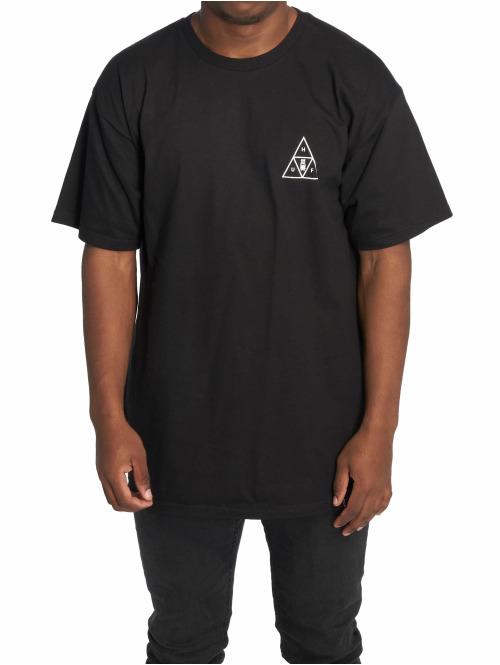 HUF T-Shirt Memorial Triangle schwarz