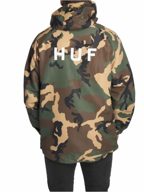 HUF Übergangsjacke Standard Shell camouflage