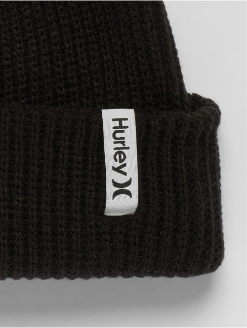 Hurley Beanie Staple OAO schwarz