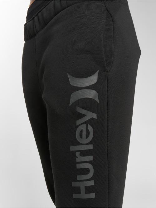 Hurley Jogginghose One & Only schwarz