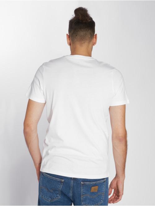 Jack & Jones T-Shirt Jormustang weiß