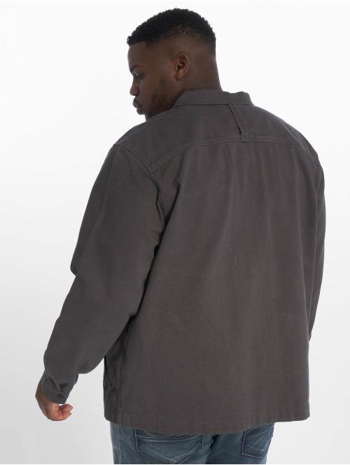 Jack & Jones Übergangsjacke jcoStation Shacket One Pocket grau