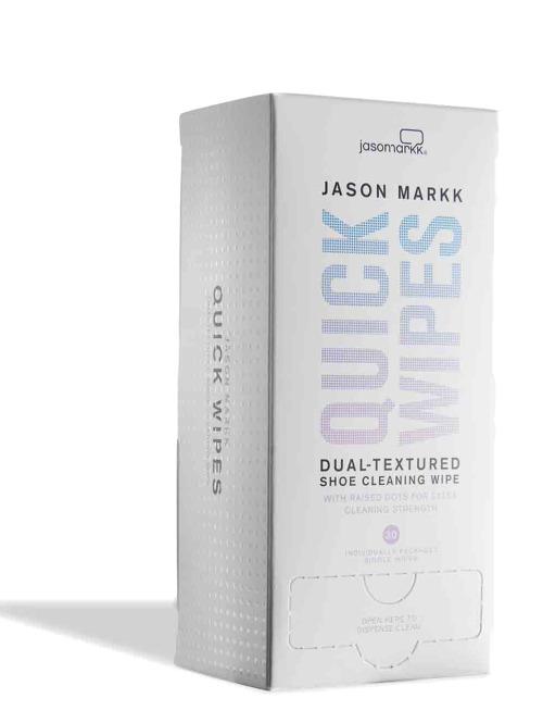 Jason Markk Schuhpflege Quick Wipes weiß