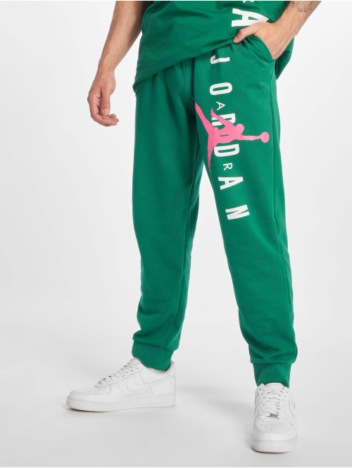 Jordan Jogginghose Jumpman Air LWT Fleece grün