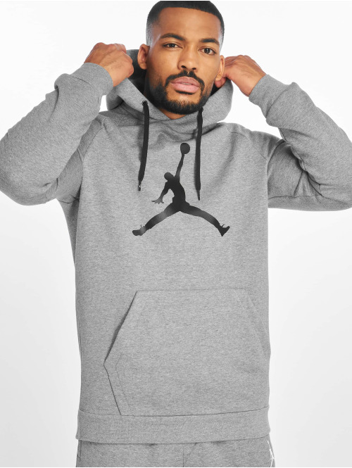 Jordan Pullover Jumpman Logo Fleece Sweatshirt grau
