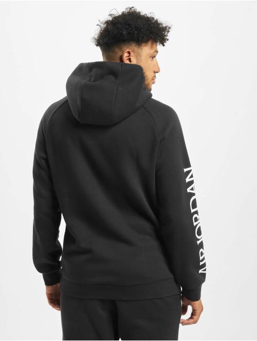 Jordan Pullover Jumpman Classics Fleece schwarz