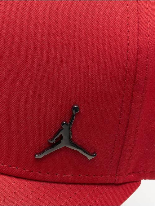Jordan Snapback Cap Classic99 Metal Jumpman rot