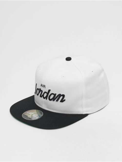 Jordan Snapback Cap Pro Script weiß
