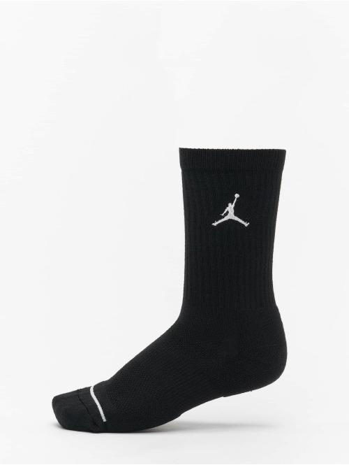 Jordan Socken 3 Pack Cotton Crew schwarz