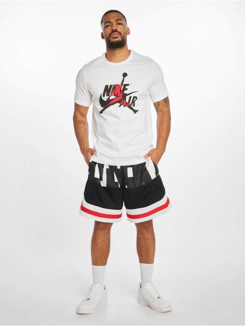 Jordan T-Shirt JM Classics Crew weiß