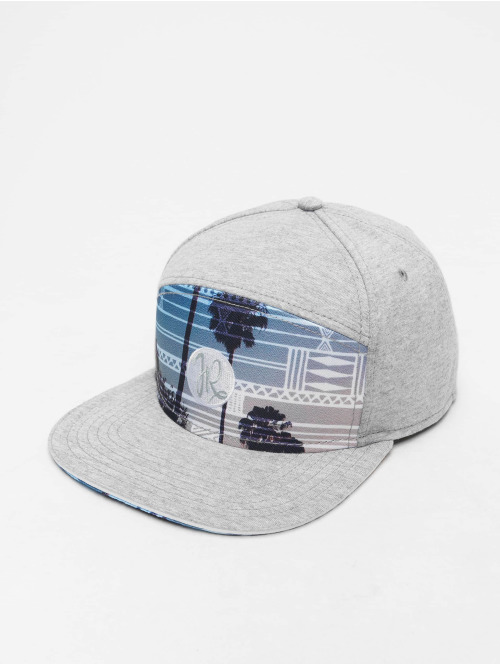 Just Rhyse Casquette Fitted  Miami 6 Panel Cap Grey M...
