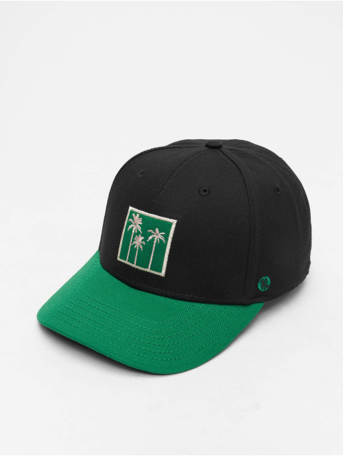 Just Rhyse Fitted Cap  Orlando 5 Panel Cap Blac...