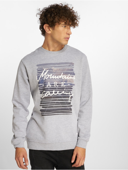 Just Rhyse Pullover Seaside grau