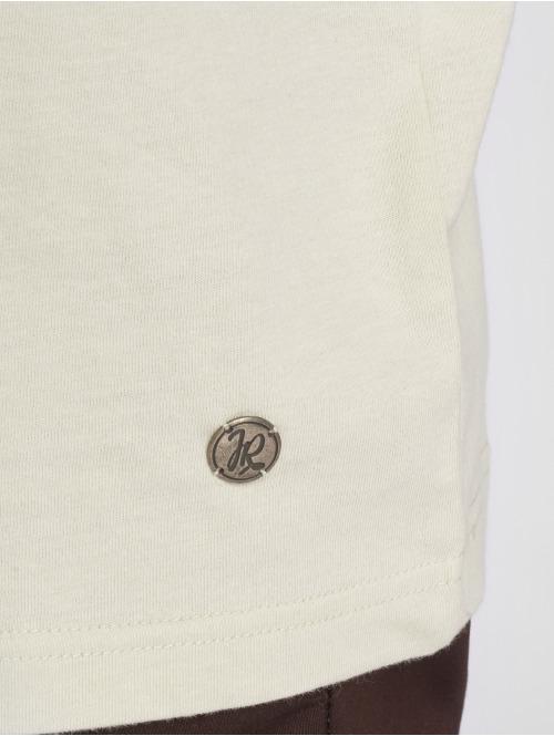Just Rhyse T-Shirt Ticatica beige