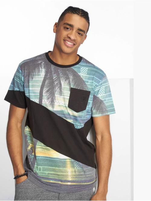 Just Rhyse T-Shirt  Miami T-Shirt Black/Colo...