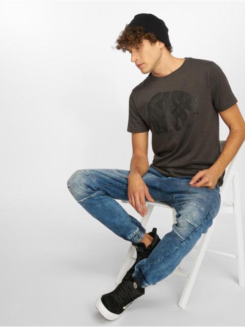 Just Rhyse T-Shirt Juneau grau