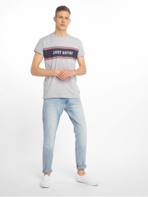 Just Rhyse T-Shirt Key Largo grau