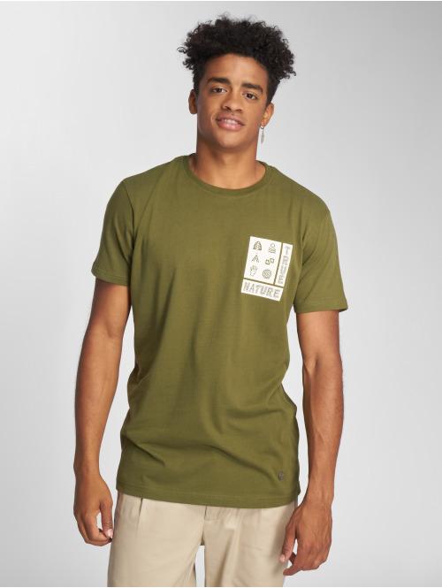 Just Rhyse T-Shirt Ticatica olive