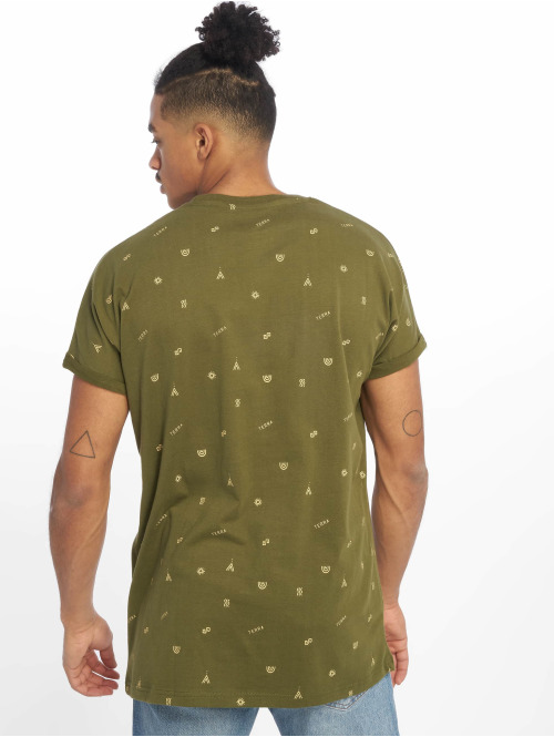 Just Rhyse T-Shirt San Vicente olive