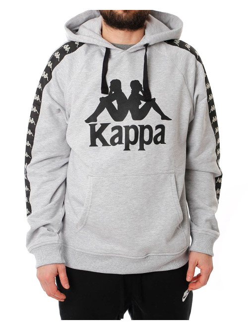 Kappa Hoody  grau