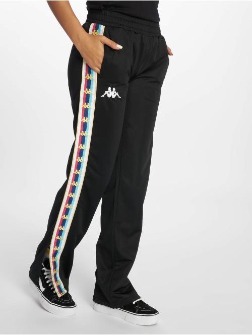 Kappa Jogginghose Valetta schwarz