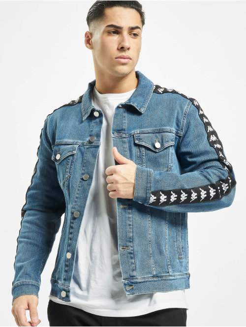 Kappa Winterjacke Denim Jacket blau