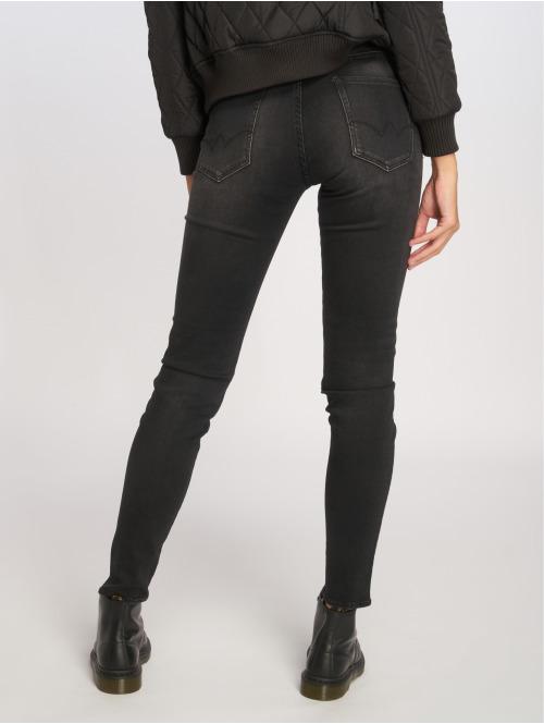 Le Temps Des Cerises Skinny Jeans Powerhig schwarz