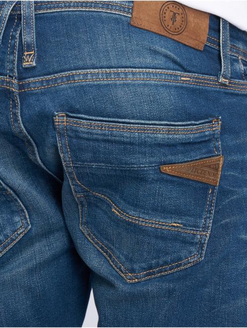 Le Temps Des Cerises Straight Fit Jeans 800/12 blau
