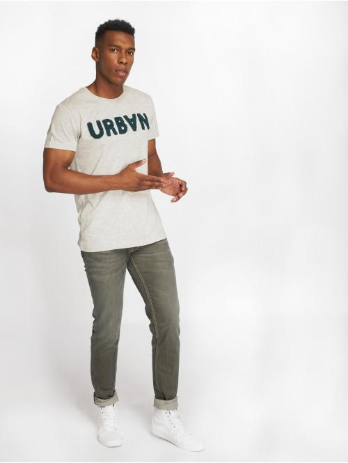 Le Temps Des Cerises Straight Fit Jeans 700/11 khaki