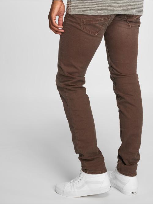 Le Temps Des Cerises Straight Fit Jeans 700/11 rot