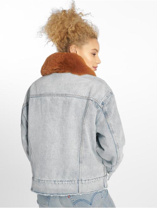 Levi's® Jeansjacken Oversized Denim bunt