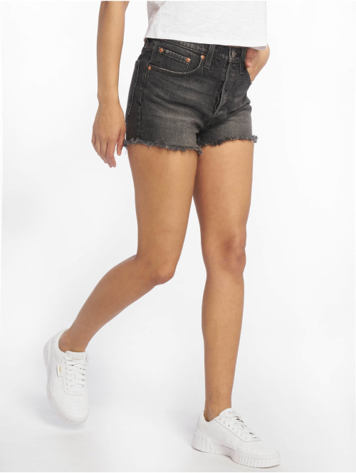 Levi's® Shorts 501 High Rise schwarz