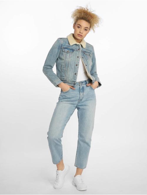 Levi's® Straight Fit Jeans 501 Crop Lovefool indigo