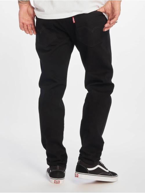 Levi's® Straight Fit Jeans Hi-ball Roll schwarz
