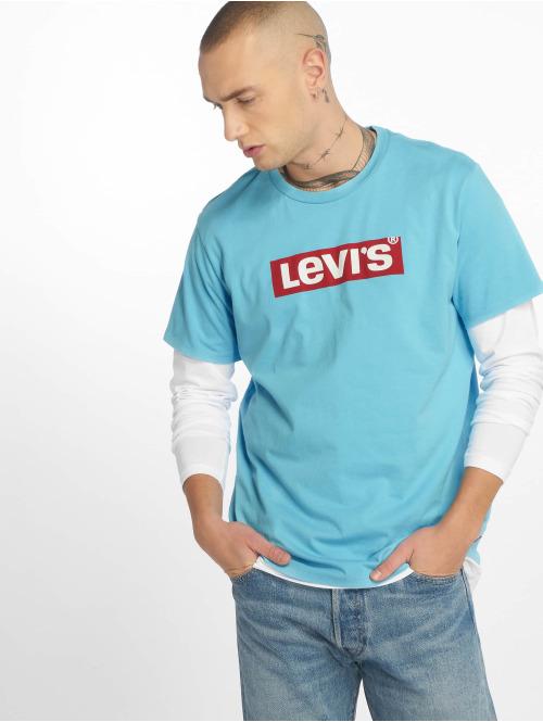 Levi's® T-Shirt Graphic Set In Neck blau
