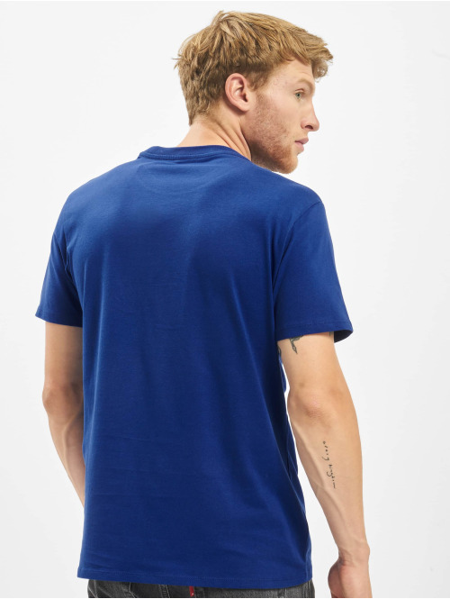 Levi's® T-Shirt Graphic Set-In Neck II Boxtab blau